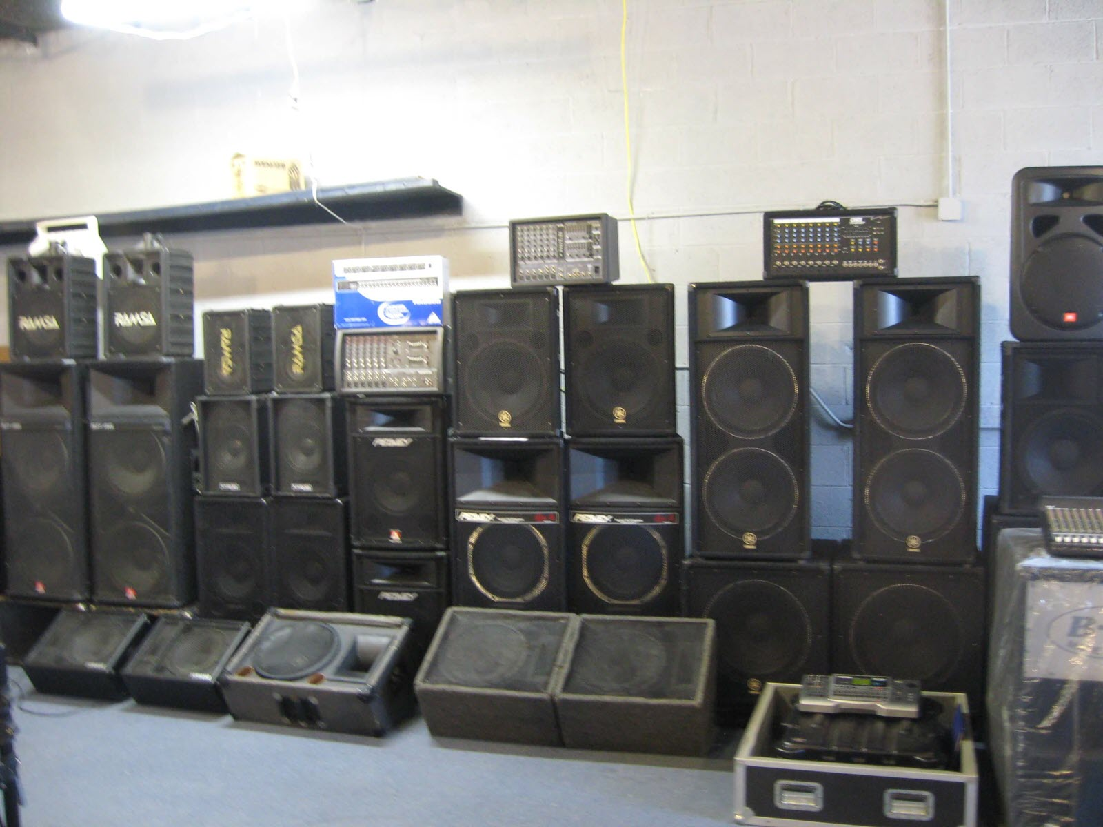 Sound Gear & PA Systems