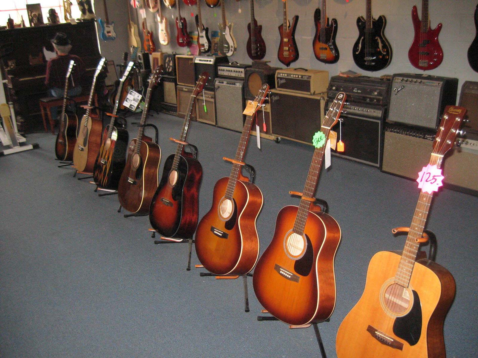 Electric Guitars, Acoustic Guitars & Bass Guitars